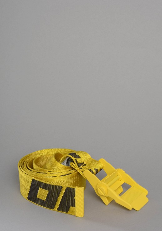 OFF WHITE  - 2.0 Industrial Belt in Yellow