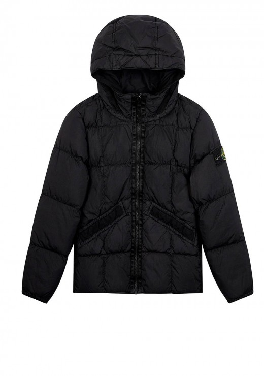 STONE ISLAND JUNIOR - 40333 Jacket in Black