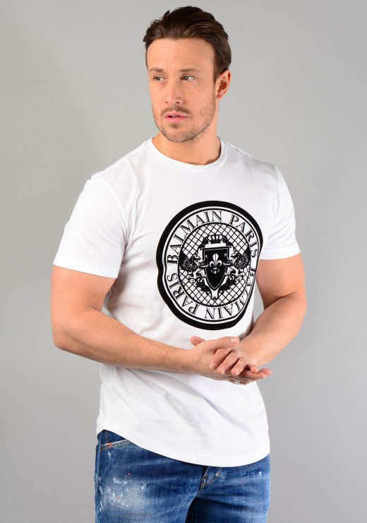 RH11135 Medallion T-Shirt In White
