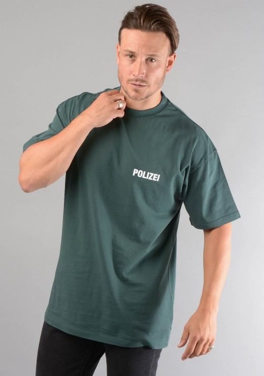 Polizie T-Shirt in Green