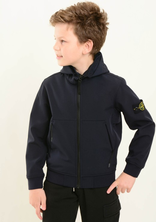 STONE ISLAND JUNIOR - Q0230 Jacket in Navy