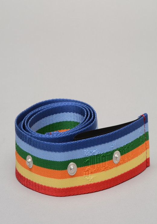 PALM ANGELS - Rainbow Belt In Multicoloured