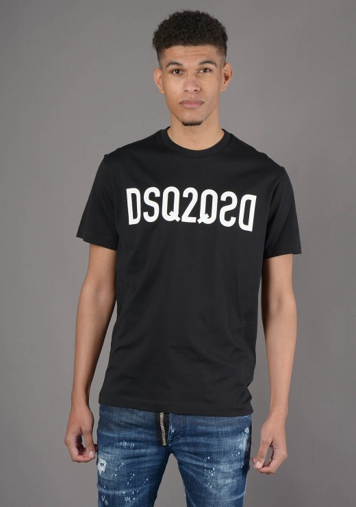 T-SHIRTS - S74GD0787 T-Shirt in Black