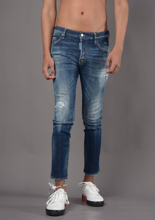 VIEW ALL  - S74LB0872 Skater Jean in Blue