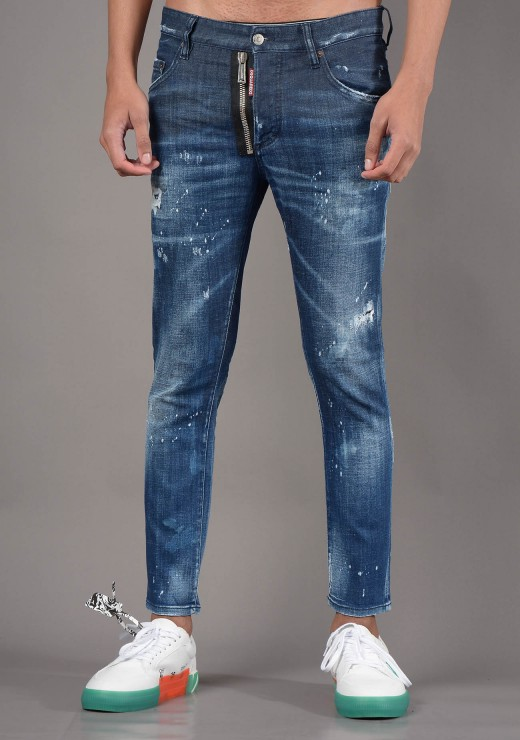 VIEW ALL  - S74LB0939 Skater Jean in Blue
