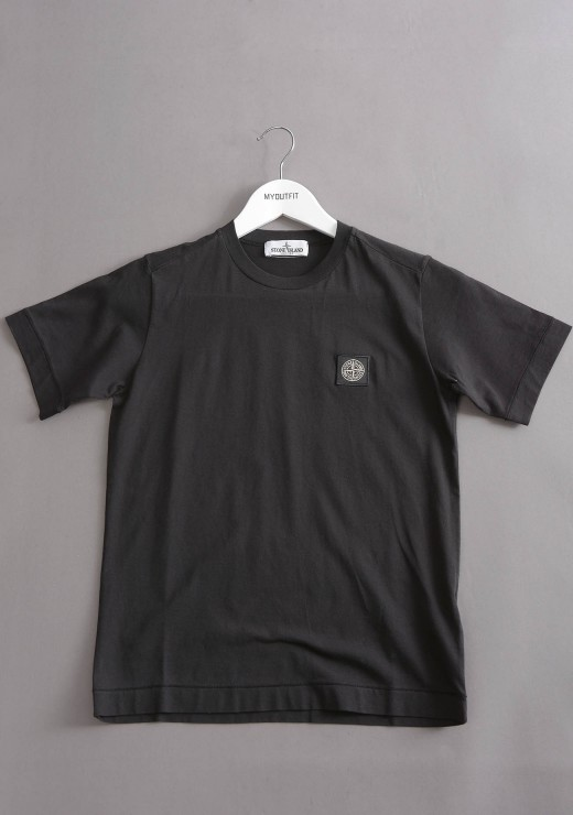 STONE ISLAND JUNIOR - 20147 T-Shirt in Black