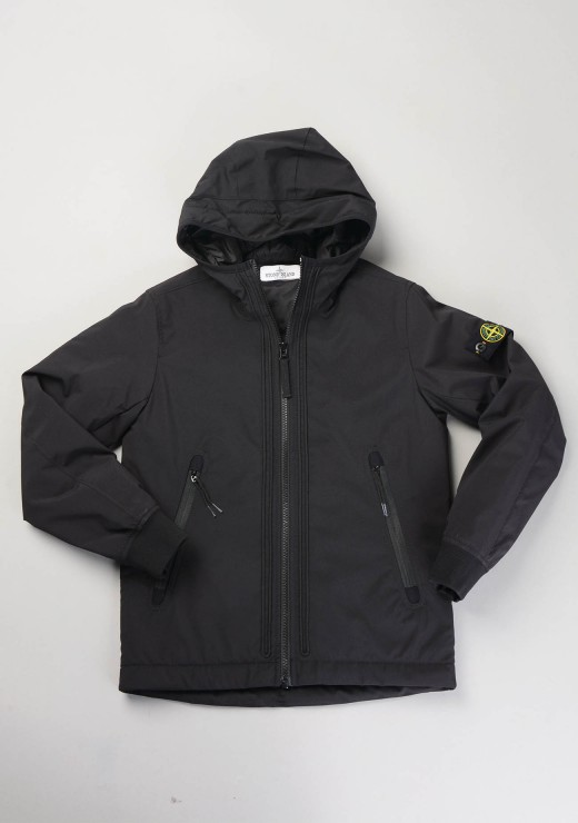 STONE ISLAND JUNIOR - 40331 Jacket Black