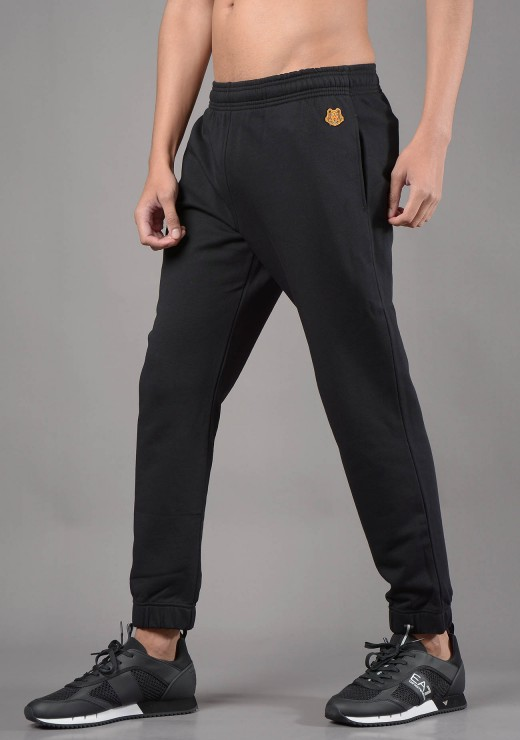 JOGGERS - 5PA711 Tiger Crest Classic Jogger in Black