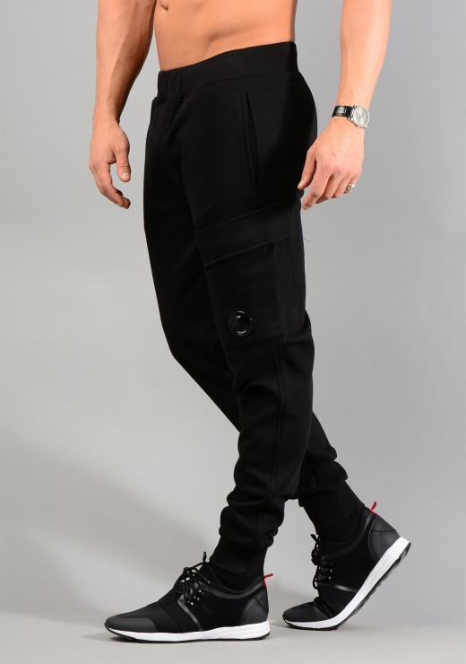 CP Company Mens 06CMSS010A Jogger in Black