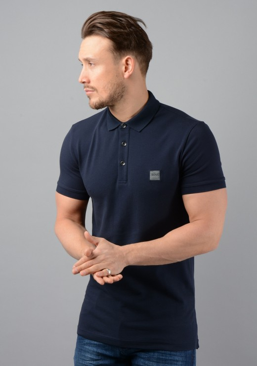 Passenger Polo Shirt in Navy