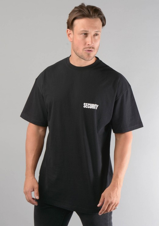 Security T-Shirt in Black