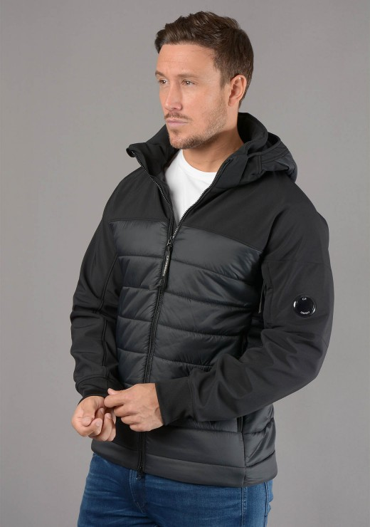 C.P. COMPANY  - 006A Lens Jacket in Black