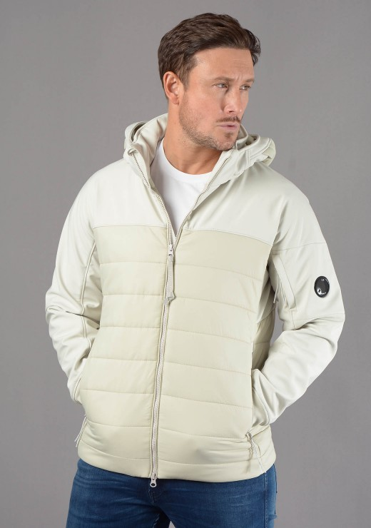 C.P. COMPANY  - 006A Lens Jacket in Ice Grey