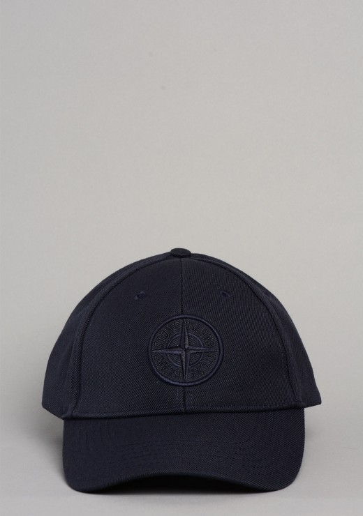 STONE ISLAND  - 99175 Cap In Navy