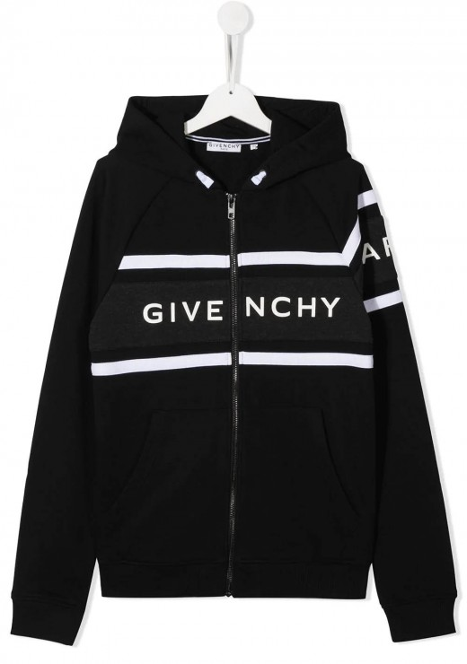 GIVENCHY KIDS  - H25195 Hoodie in Black