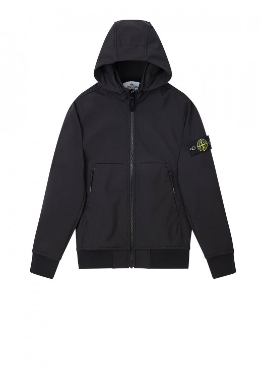 STONE ISLAND JUNIOR - Q0230 Jacket in Black
