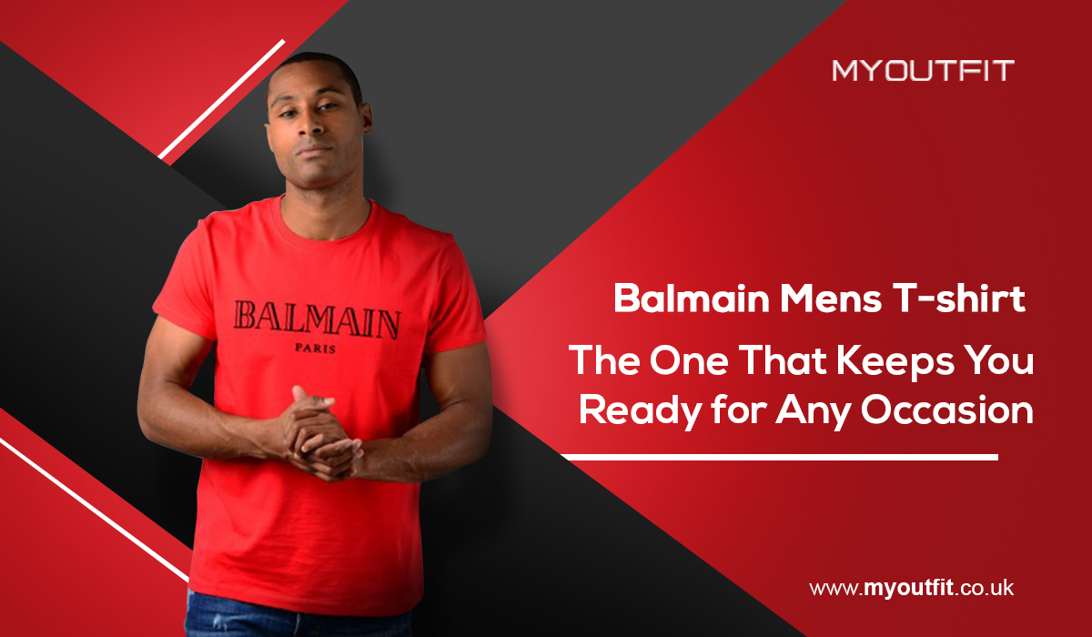 Balmain Mens T-shirt - The One That Keeps You Ready for Any Occasion
