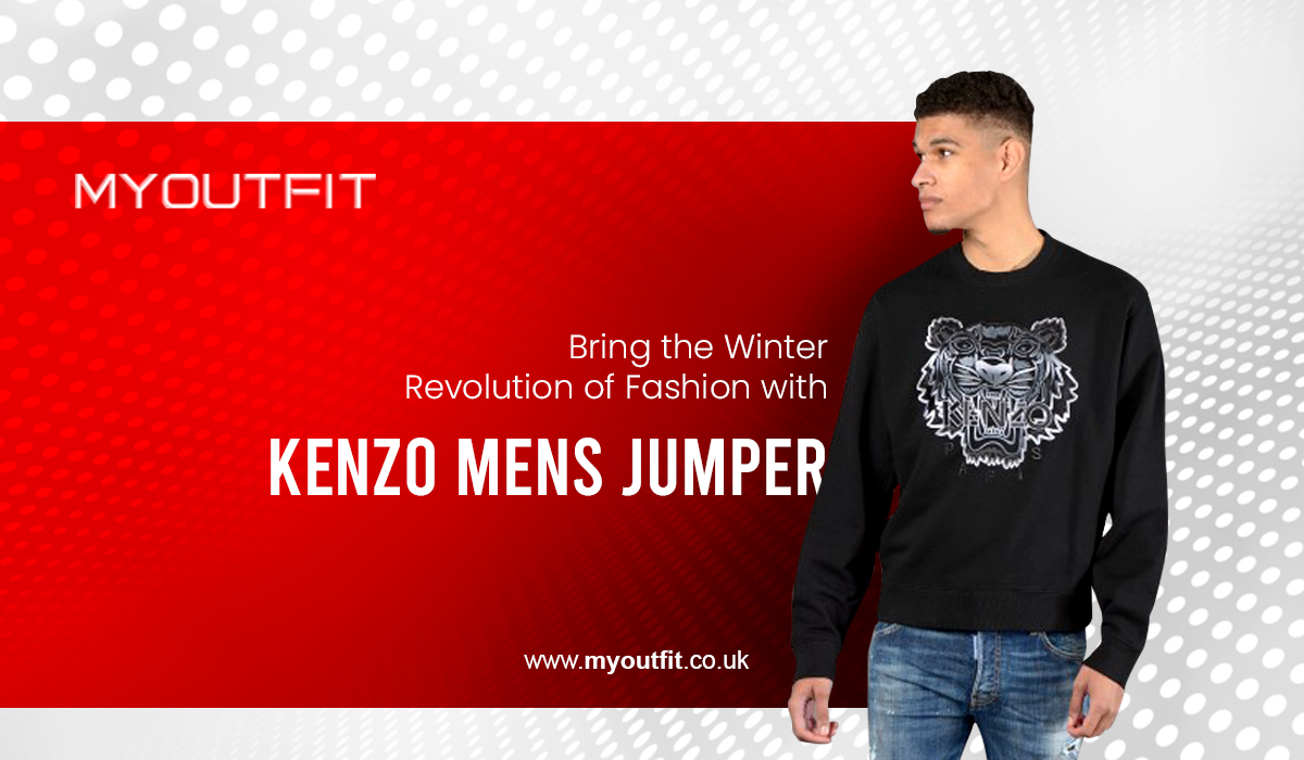Bring the Winter Revolution of Fashion with Kenzo mens jumper