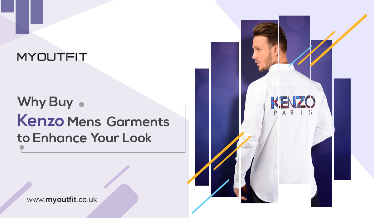 Why Buy Kenzo Mens Garments to Enhance Your Look